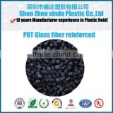 Black Color high impact glass fiber reinforced plastic PBT granule with 25% GF