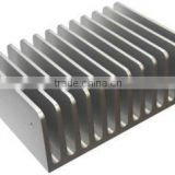extruded coppecopper heat sink spare Parts OEM stainless steel heatsink component Aluminum alloy Extrusion fin