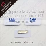 Fashion High quality plastic magnetic reusable name badge                                                                         Quality Choice