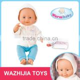 Ali express china wholesale drink and pee reborn silicon baby doll with hair