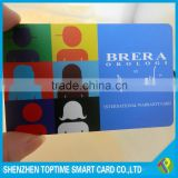 factory price 13.56khz 1K Fudan F08 RFID smart card
