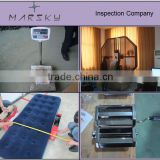 services/products/during production inspection/pre shipment inspection/container inspection/hotel slipper quality control