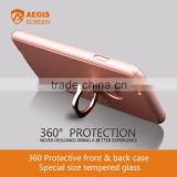 Full Protective Mobile Phone Silicon Case Phone Accessories Ring 3D Protective Phone Case
