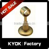 KYOK electroplating/iron double curtain rod bracket,wall mount 16/19mm brackets,vertical blinds component on sale