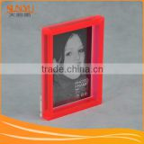 factory made custom magnetic photo frames acrylic cube block plexiglass frameless picture frame