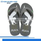 2014 new design beach slipper with composite good looking flip flop