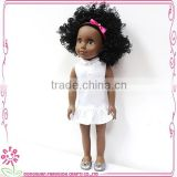 plastic cheap baby girl fashion mini craft handmade doll