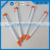 Wholesale Cheap Stock Plastic Ball Pen,Promotional Plastic Click Ballpoint Pens