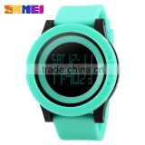 hotseller 2016 skmei 1142 3 atm water resistant watch silicone wristband watch