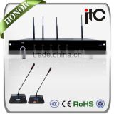 ITC TH Series Summer New Arrival High Sound Quality UHF Wireless Conference Microphone System