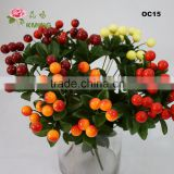 cute wholesale artificial fruit for christmas decoration
