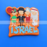 souvenir Israel four people fridge magnet, custom israel gifts fridge magnet for different countries