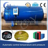 horizontal double safety device steam electricity pressure retort