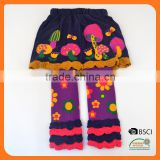 Baby Legging with wide back panel young girl tube school sock