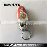 Promotional customized plastic super smart sport shoes shaped keychain                                                                         Quality Choice