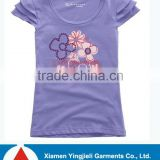 100% Cotton Printed Custom T-shirt From Bangladesh Readymade Garments Manufacturer 2014