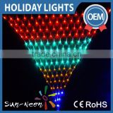 Super Bright Holiday Lighting Rgb Led Net Light