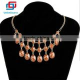 Latest Design Fashion Natural Garnet Bead Necklace