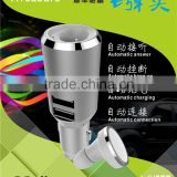 iTreasure dual USB Car Charger Adapter, Bluetooth Headset 4.0 Wireless Headphone Earphone Earpiece