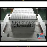 Free 3D mould prototype plastic square crate tooling
