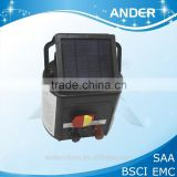 18KM Solar power electric fence energiser Solar energy panels approved by CE (Accept OEM Service)