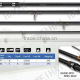 5 pieces Carbon blank easy carry carp fishing rods