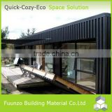 Environmental Friendly Stable Prefab Finland Log House with Equipment
