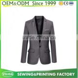 OEM Europe Style 100% wool casual mens slim fit blazer jackets for men