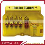 Lockout tagout Groups with Components Advanced Lockout Station