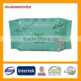 China OEM/ODM 30pieces/bag factory bamboo fibre baby tissues, wet wipes