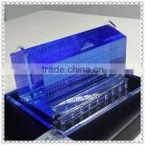 Professional Blue Glass Building Ornaments For Business Guest Gift