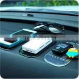 Hot sale pu Car Sticky Pad / Mobile phone anti-slip mat / silicone car non-slip sticky Mat
