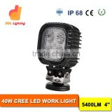 Factory Wholesale 40W Auto Parts Led Work Lights Car Accessories Led Work Light for trucks