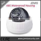 Sony CCD 480tvl dome ABS Waterproof Housing IR cctv camera housing