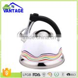 Water Kettle Induction Cooker Coffee Camping Kettles Furnace Stove Whistling Teapot Tools