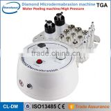 2016 hot sale 3 in 1 multifunctional skin care machine / microdermabrasion machine / peeling machine
