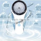 3 speed mode clear Sonic Advanced Facial Cleansing System brush for oil ,sensitive or normal skins ZL-S1589