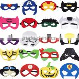 Cheap Dress up Promotional Felt Animal Mask Kids Birthday Party Favor