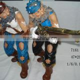 Customization Silicone Johnny Depp Wax Figure Pirates of the Caribbean Celebrity Waxworks