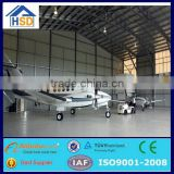 prefabricated steel frame portable workshop aircraft hangar tent