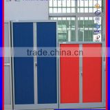 Metal roller shutter door filing cabinet pvc door cabinet for commercial use