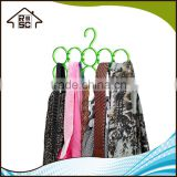 NBRSC Shipment in time Plastic Scarf Hanger 15 Holes Scarf Organizer Belt Hook Silk Tower Rack