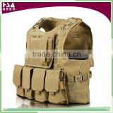 Adjustable tactical military combat vest