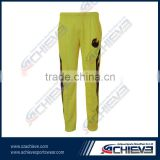 Custom made best fabric for trousers cricket team wear