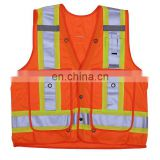 Wholesale customized Hi Viz work wear reflective safety vest