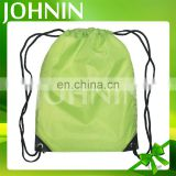 Factory Service Verious Colors Custom Logo Nylon Drawstring Bag Shopping bags school bags