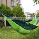 2016 Hot selling Double Portable Parachute Camping hammock