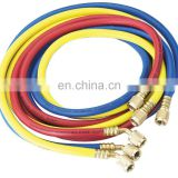 "1/4"" 5/16"" SAE AC Charging Hoses Tube 1.5M 800PSI for HVAC Air Conditioning Refrigerant R410a R134a R22 R12"