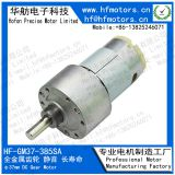 Metal Gearbox DC Gear Motor 6V , 12 Volt Gear Reduction Motor for Household Application GM37-385SA