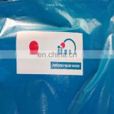 Customized Waterproof Blue PE Tarpaulin With Printing Logo